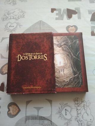 Trilogía El Señor de los anillos DVD 12cd's