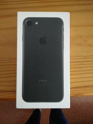 caja iphone 7 negro