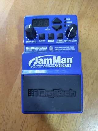 Pedal guitarra JamManSoloXT (Looper)