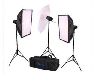 Starblitz kit estudio flash 160