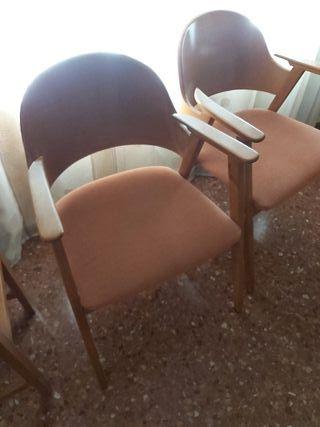 2 sillas de comedor