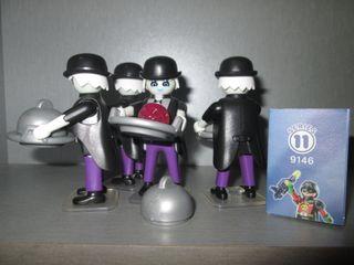 Playmobil. Mayordomo Fantasma. Serie 11.