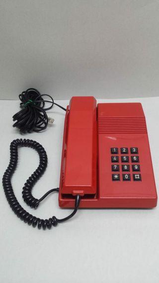 TELEFONO TELEFONICA CTNE TEIDE ROJO