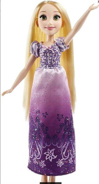 Muñeca Disney Princess - Rapunzel con su vestido