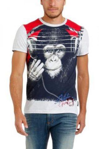 Camiseta Desigual Hombre talla 3XL