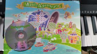 music aventure 1 yamaha music school