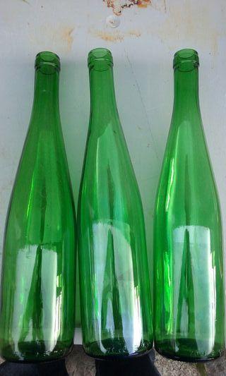 Botellas de vidrio de 750