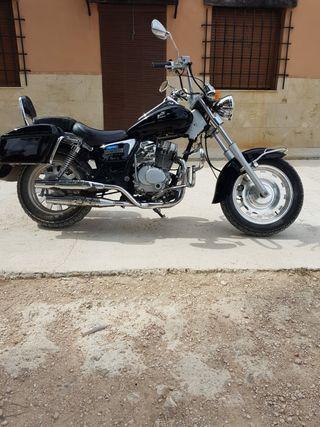 Moto Dorton Daelim 125 7900km