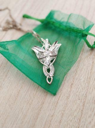colgante elfo señor de los anillos
