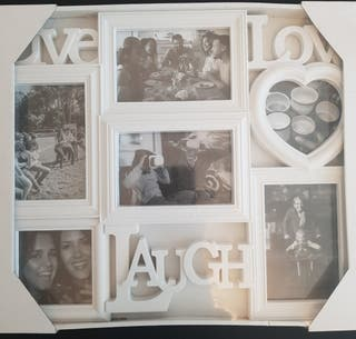 White Photo Collage Picture frame