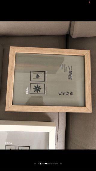 13x18cm ; 10 unidades marcos marco de foto Ikea fiskbo marco en blanco;