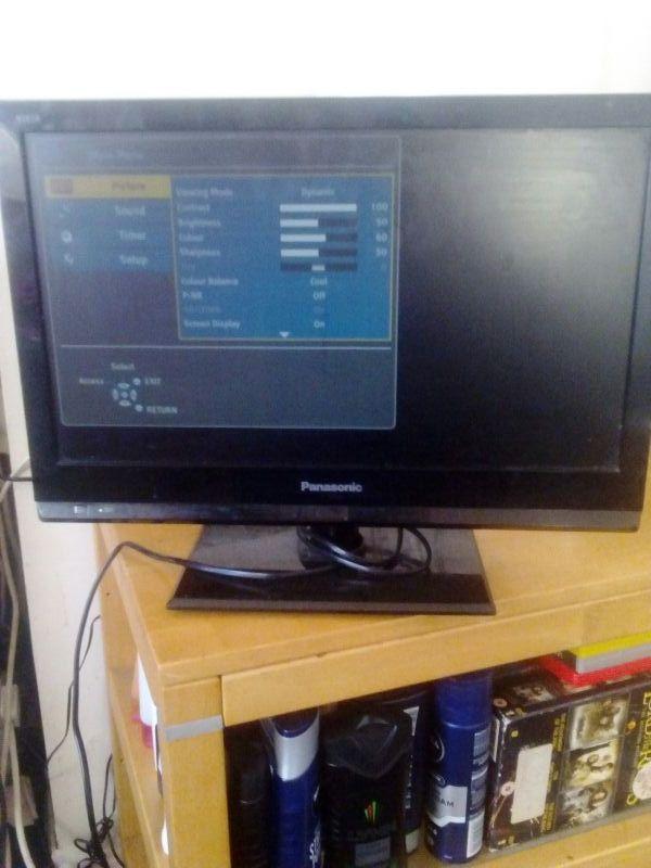 19inch Panasonic viera Lcd tv