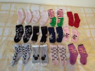 12 pares de calcetines nº 23-26