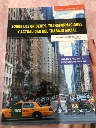 libro UNED. Sobre los origenes del trabajo social
