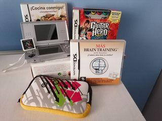 Nintendo DS Lite juegos y accesorios