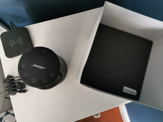 altavoz Bluetooth Bose revolve plus