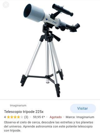 Telescopio de imaginarium