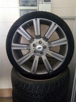 "llantas aluminio 22"" range rover.."