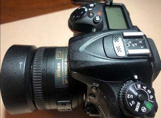 vendo nikon d7200 por cambio a full frame.