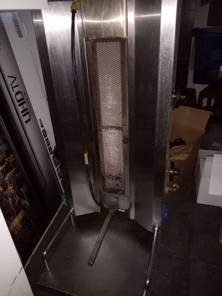 2 máquina de kebab + cuchillo electrico