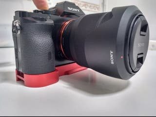 Placa de liberación rápida para Sony A7 y A7R