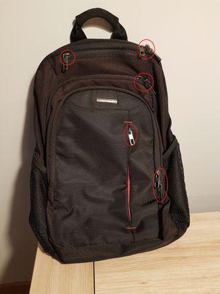 mochila Samsonite con 5 compartimentos