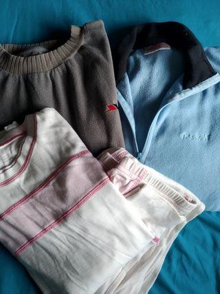 Lote ropa esqui niña/mujer