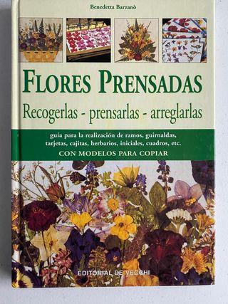 Libro Flores prensadas