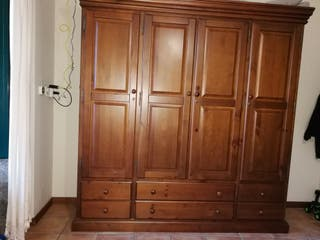 Armario Rústico de madera maciza