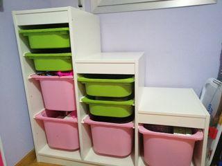 almacenaje juguetes niños