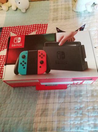 Nintendo Switch Neón sin Parchear