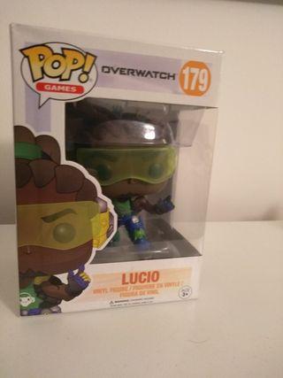 overwatch funko pop - mercy, lucio