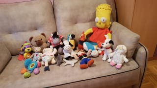 Muñecos de peluches