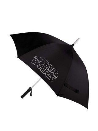 Star Wars Paraguas con luz sable laser