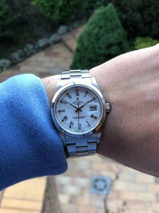 Rolex Date Zafiro