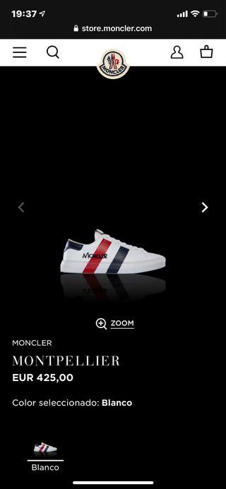 Zapatillas Moncler .