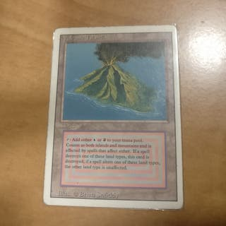Carta Magic Volcanic Island