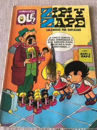 Tebeo de zipi zape años 80