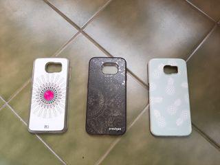 3 fundas Samsung Galaxy S6