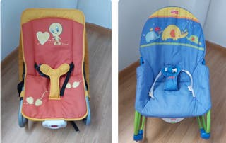 Lote 2 hamacas fisher price piolin