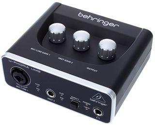 Tarjeta de audio Behringer U-Phoria