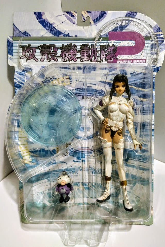 GHOST IN THE SHELL 2 ManMachine Interface 2 Motoko