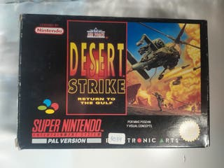 Desert Strike para Súper Nintendo