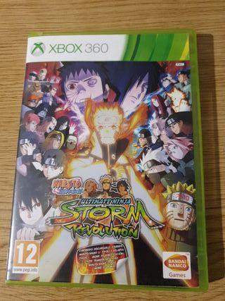 Juego Xbox360 Naruto shppuden Últimate Ninja