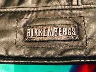 Cazadora de cuero Bikkembergs