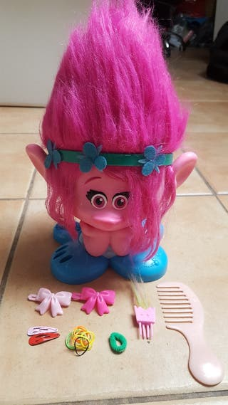 Trolls Popy juguete infantil para peinar