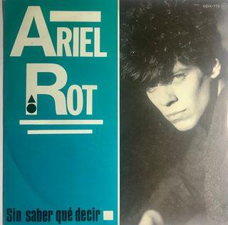 Vinilo Ariel Rot Sin saber que decir