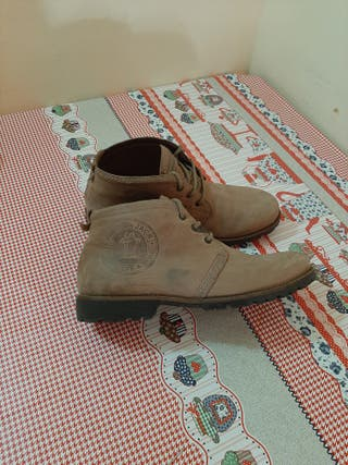 Botas de piel Panama jack n46
