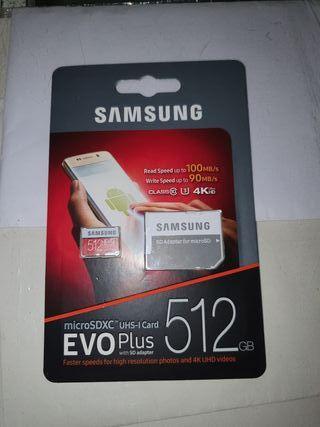 tarjeta 512 gb