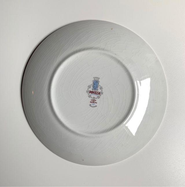 Vajilla vintage porcelana